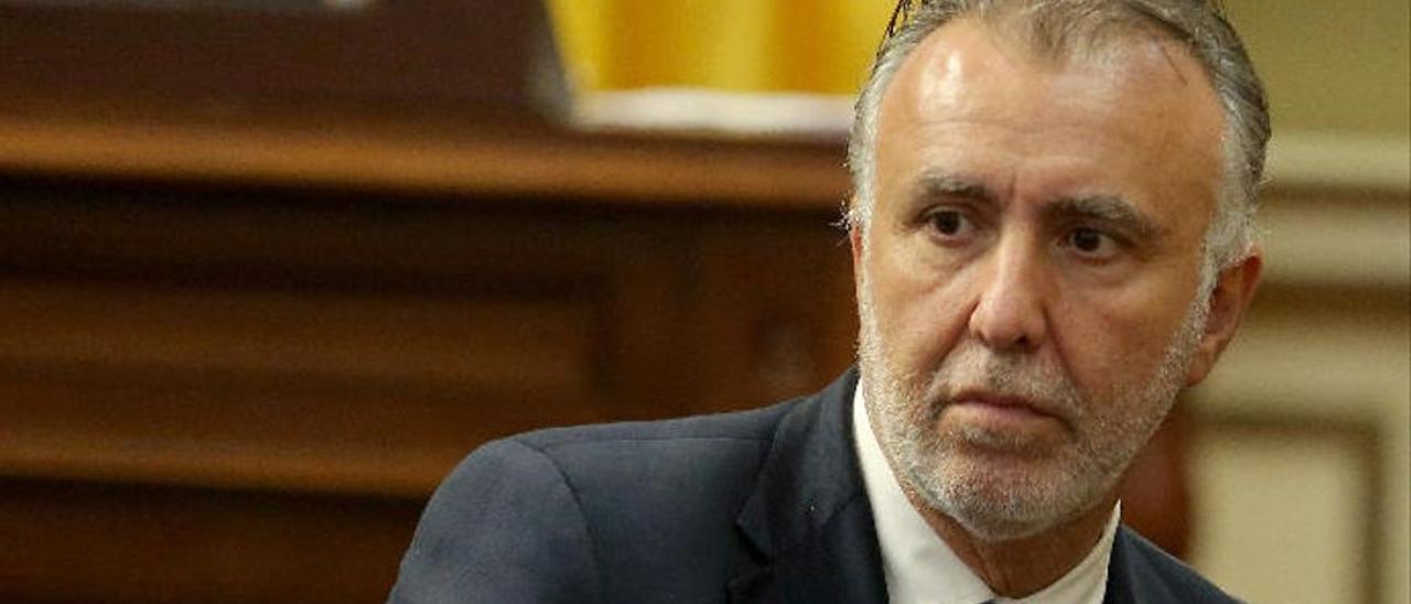 Ángel Víctor Torres, presidente del Gobierno canario