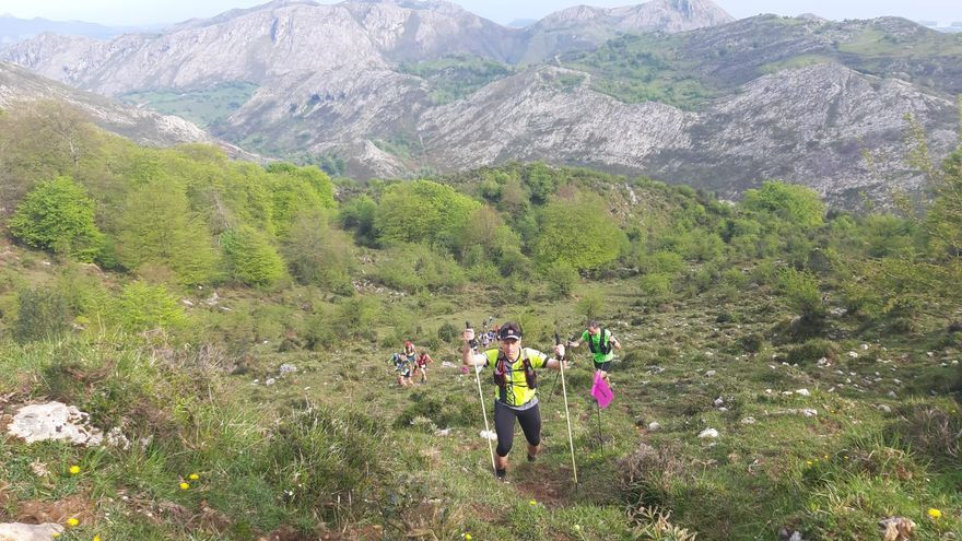 """El Trail de Cuera vence al covid y al calor en Porrúa: """"Éxito total"""""""
