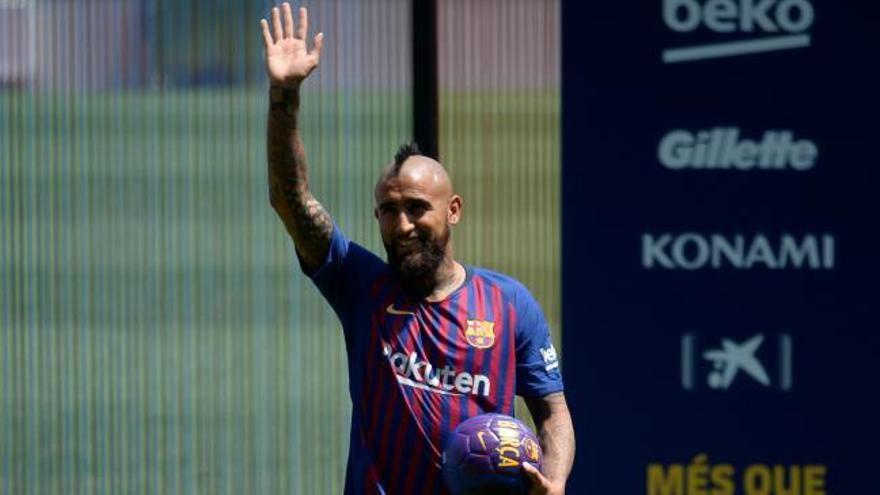 """Arturo Vidal se muestra """"feliz de estar en el mejor equipo del mundo"""""""