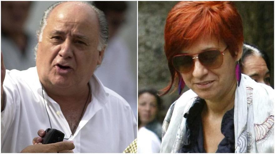 Amancio Ortega y su hija Sandra, los más ricos de España