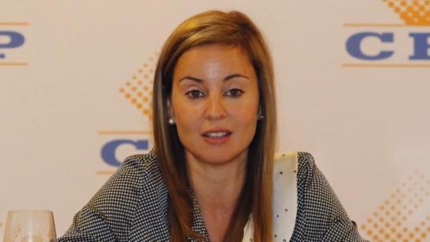 Verónica Martínez Barbero, directora general de Trabajo
