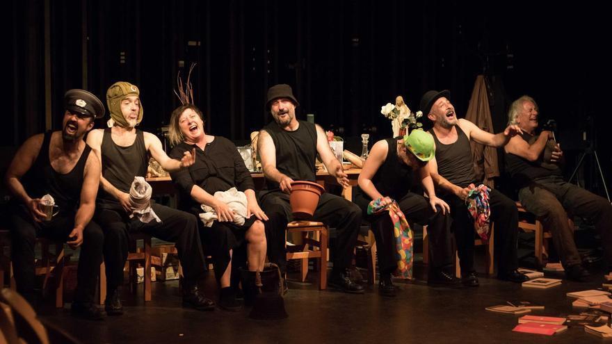 'Los disparates de Goya' estrenan la Cúpula del parque de La Granja