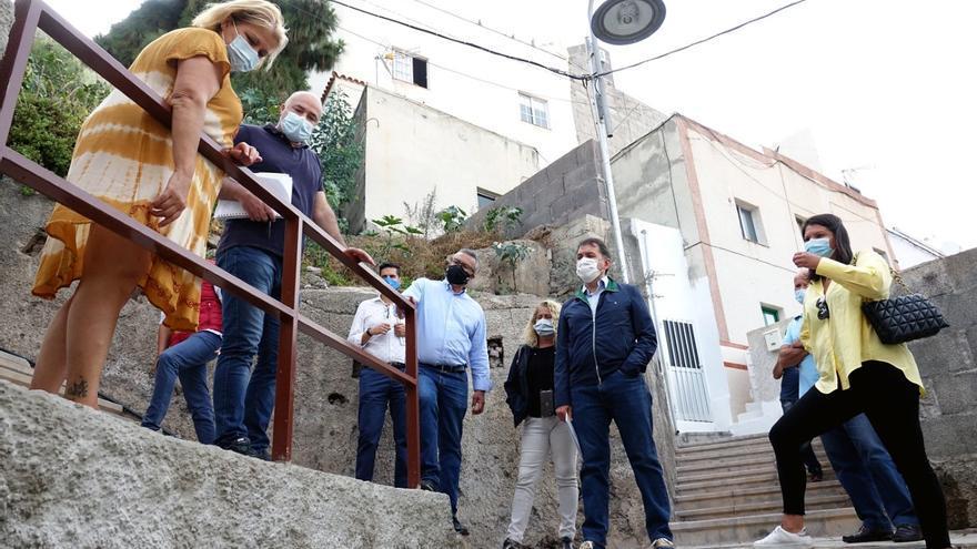 El Gobierno municipal asegura que ha ejecutado sesenta obras en Anaga en el último año