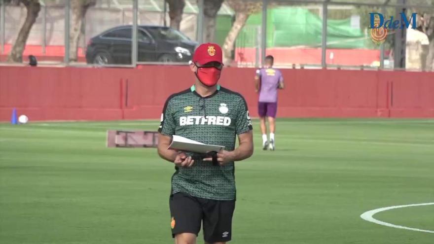 El trabajo físico marca la vuelta a los entrenamientos del RCD Mallorca