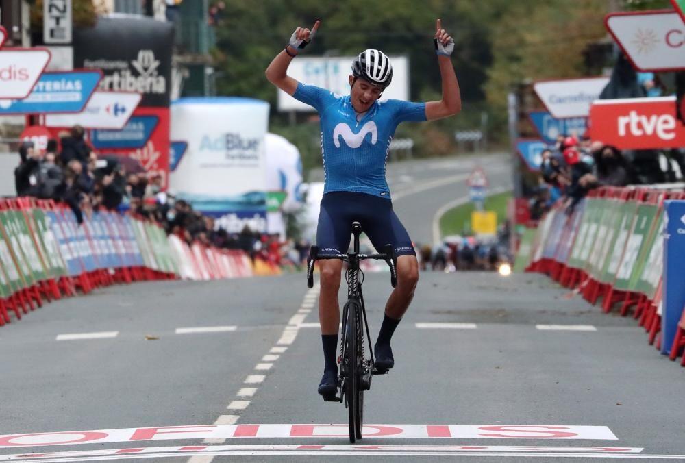 Las imágenes de la 2ª etapa de la Vuelta a España.