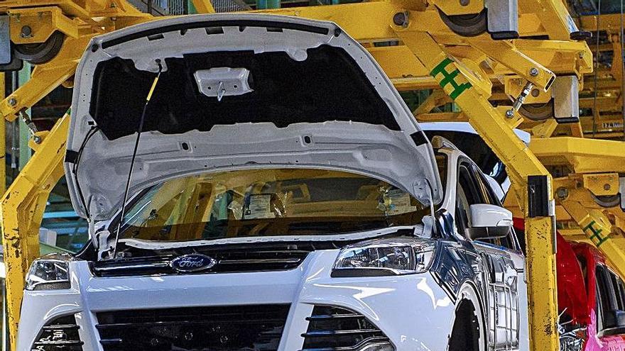 La exportación sube un  3,3 % pese a la caída de Ford