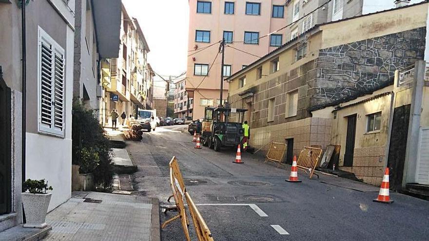 La reforma de la calle San Xoán de Arcal dotará de aceras a ambos lados