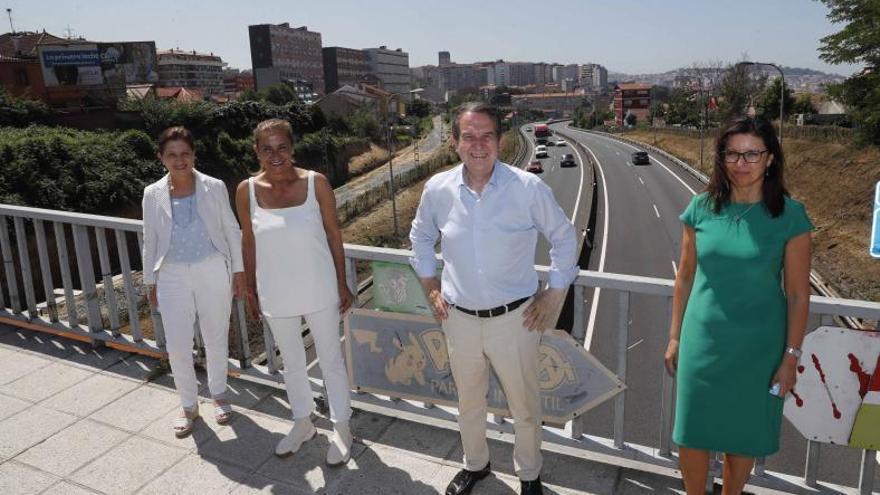 Una rotonda en Buenos Aires permitirá a la AP-9 conectar con el centro de la urbe