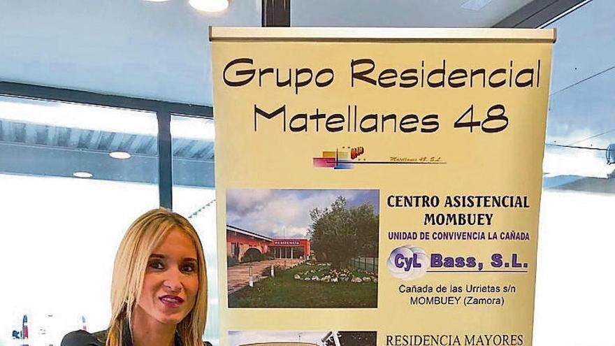 Amara Ramos, directora del Centro Asistencial Mombuey. |