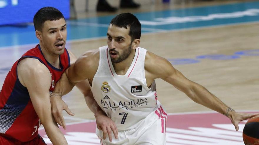 El Real Madrid hace oficial la marcha de Campazzo a la NBA