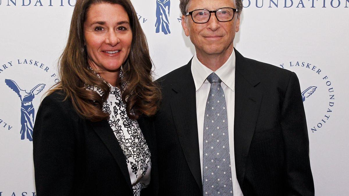 Gates i la seva dona Melinda