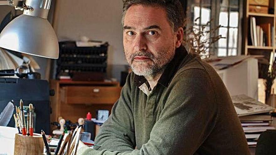 """Miguelanxo Prado: """"A miña forma de vida forma parte do illamento actual"""""""