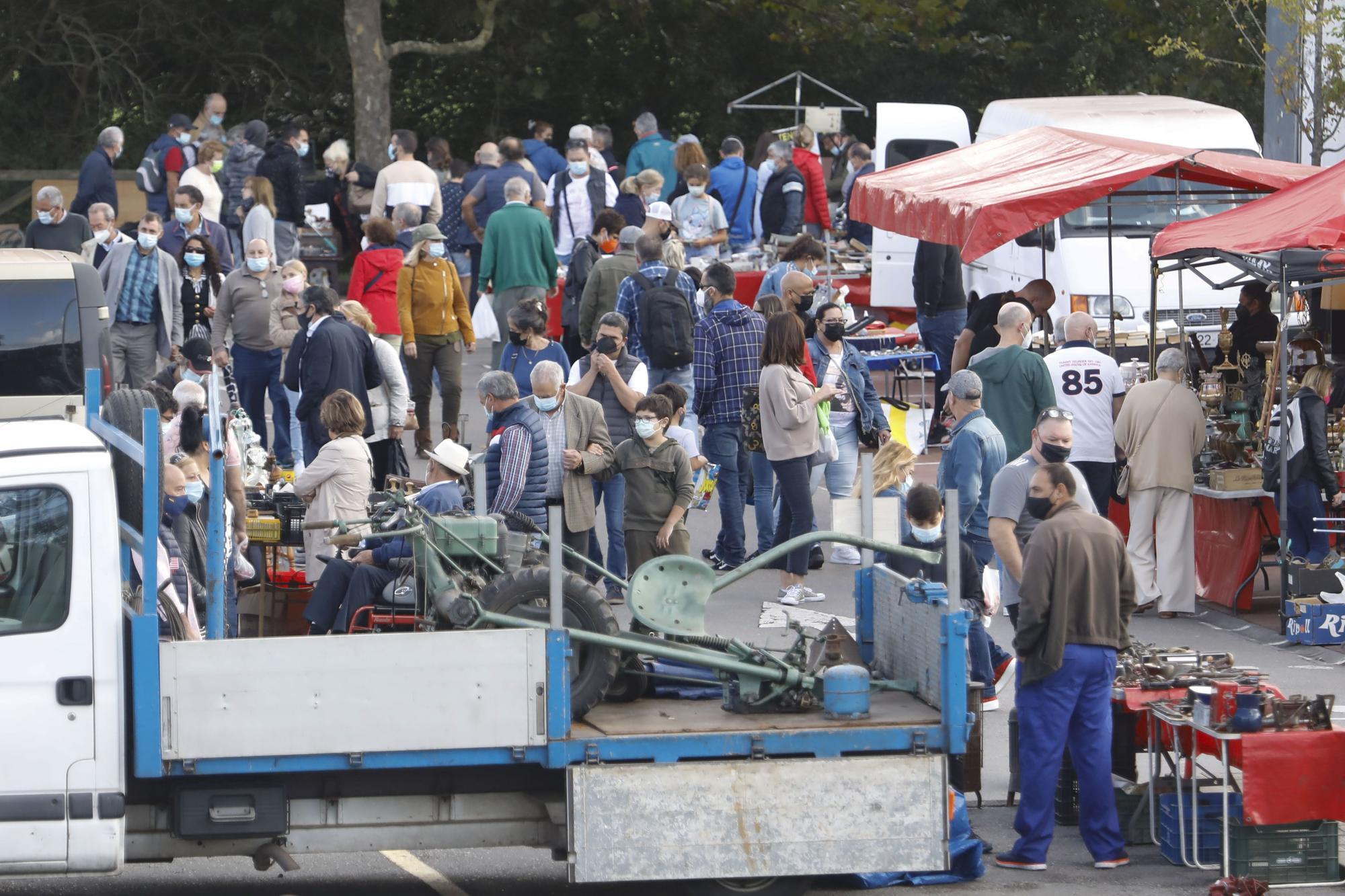 El rastro de Gijón vuelve a su organización habitual