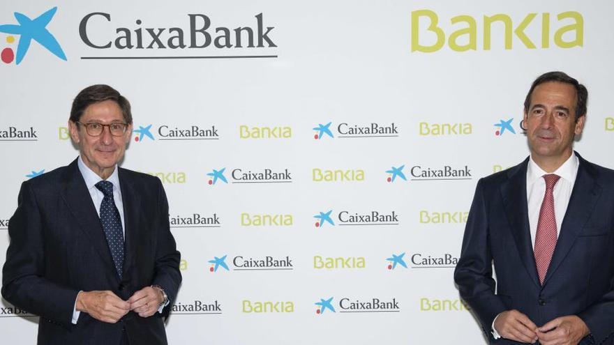 La fusión entre Bankia y CaixaBank será efectiva en el primer trimestre de 2021