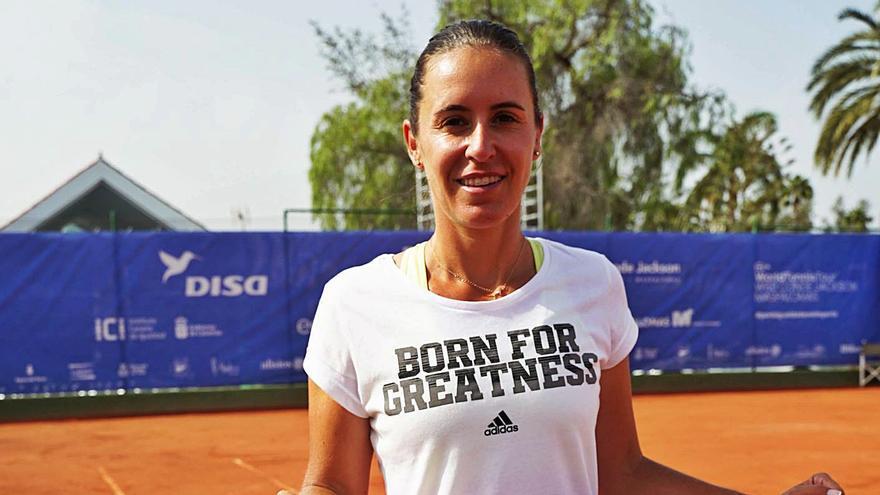 Anabel Medina: «Se enseña poco la gestión  de la derrota en el deporte»