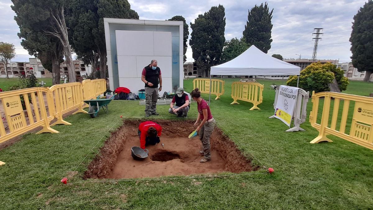 Vinaròs realiza la primera exhumación de víctimas del franquismo