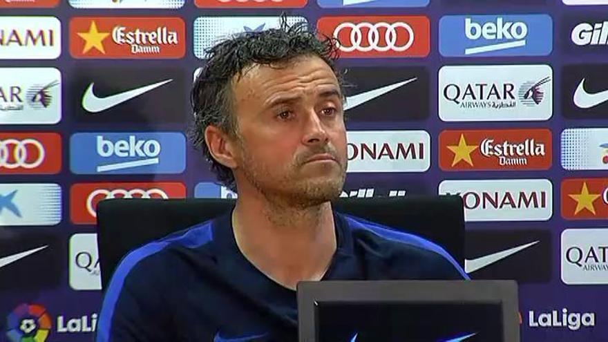 """Luis Enrique: """"Es partidista ver lo que hace el Madrid solo en Champions"""""""