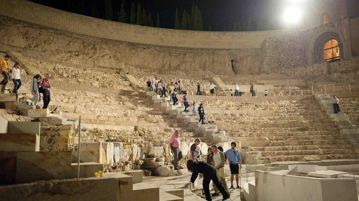 Visita este sábado al Teatro Romano de Cartagena bajo la luz de la luna