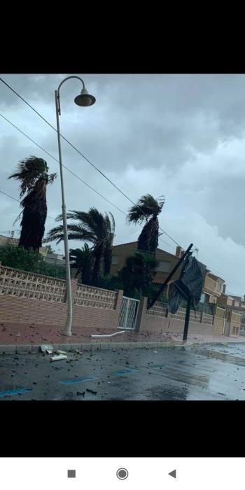 Tornado en Guardamar
