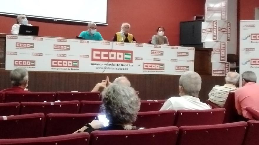 La Federación de Jubilados de CCOO de Córdoba reclama la mejora de los sistemas de pensiones y dependencia
