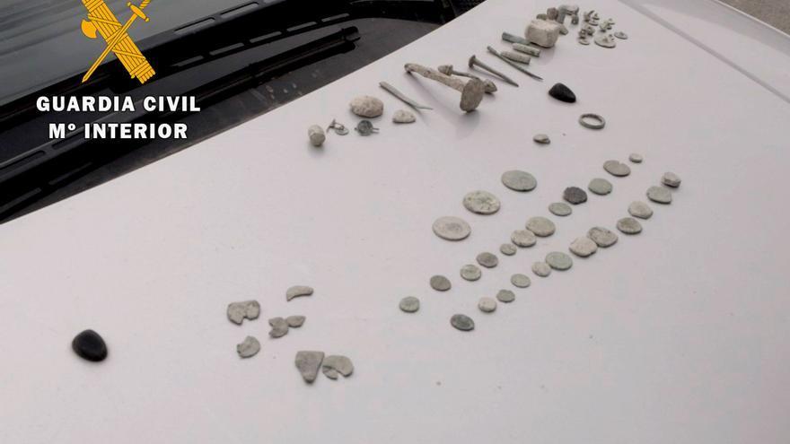 La Guardia Civil investiga a dos vecinos de Montilla por expolio arqueológico