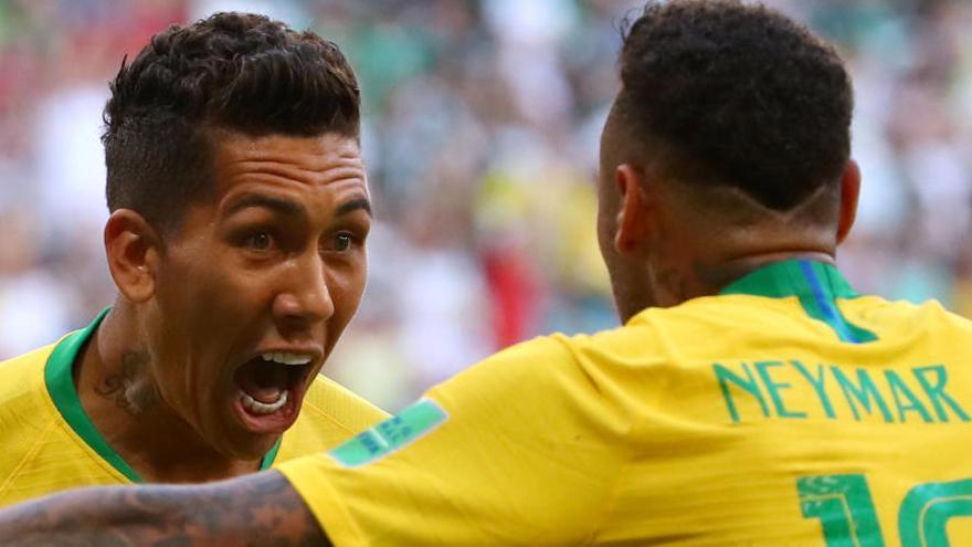 Brasil, a quarts de final després de derrotar Mèxic
