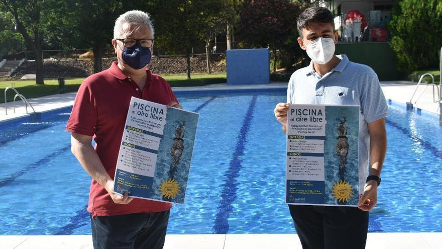 La piscina al aire libre del Francisco Manzano de Puente Genil reabrirá el 1 de julio