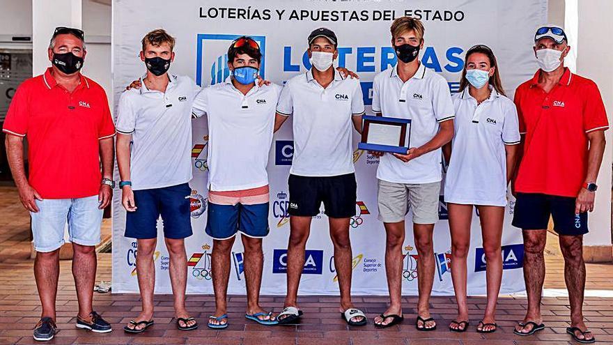 El CN s'Arenal finaliza segundo en la primera prueba de la Liga Española