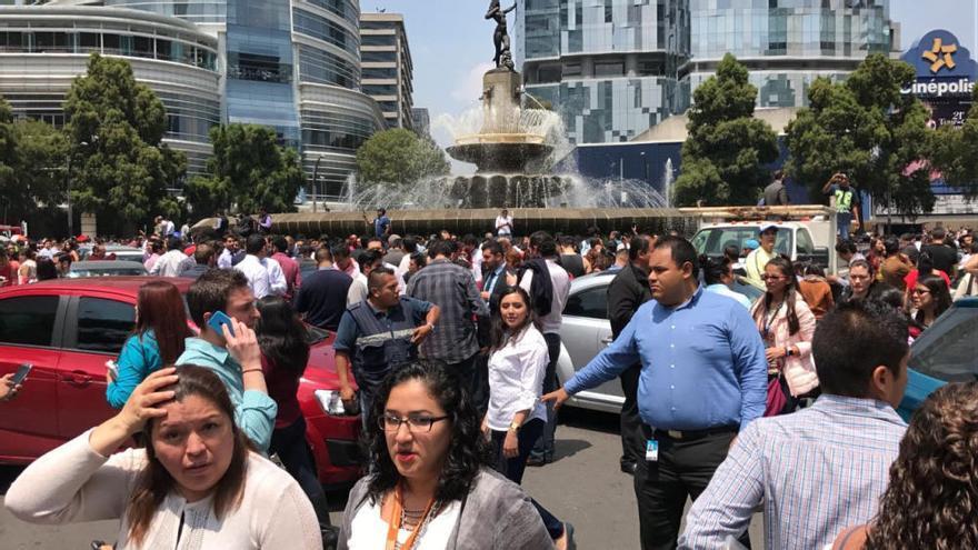 Terremoto de 7 grados en México