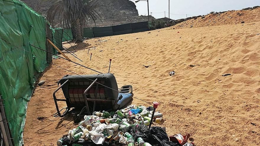 Vecinos y empresarios de la Playa de Tauro denuncian trapicheo de drogas