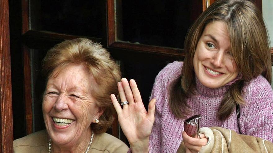 Fallece Menchu Álvarez, abuela de la reina Letizia