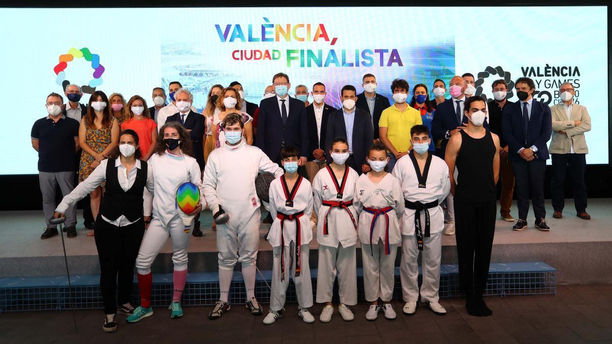 Presentación de la candidatura de València a los Gay Games