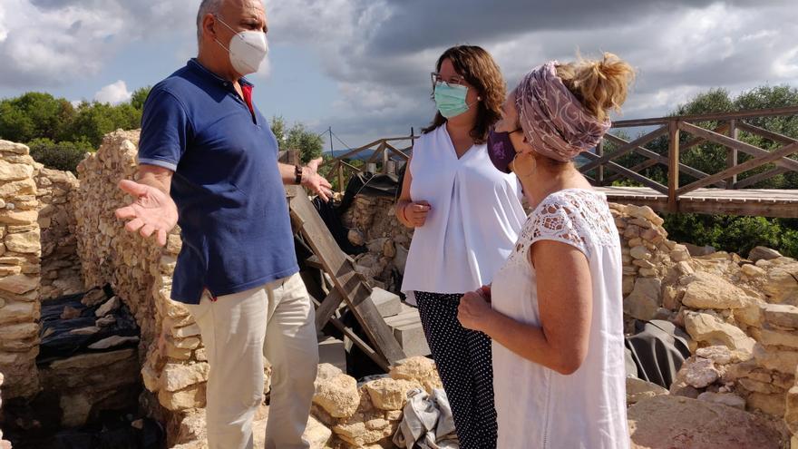 La Diputación rescata y pone en valor como recurso turístico el yacimiento del Puig de Vinaròs