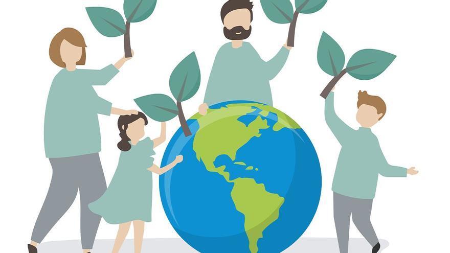 Siete acciones para salvar el planeta en familia