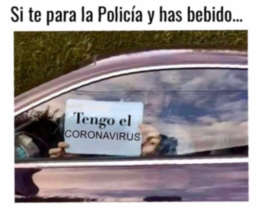 Memes sobre el coronavirus