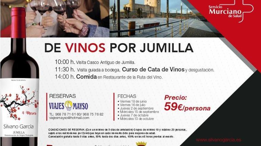 De vinos por Jumilla