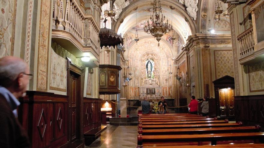 Els Mossos d'Esquadra detenen un home que robava la recaptació de la catedral de Solsona