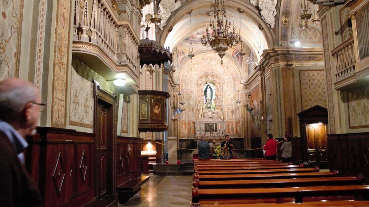 Interior de la catedral de Solsona en una imatge d'arxiu
