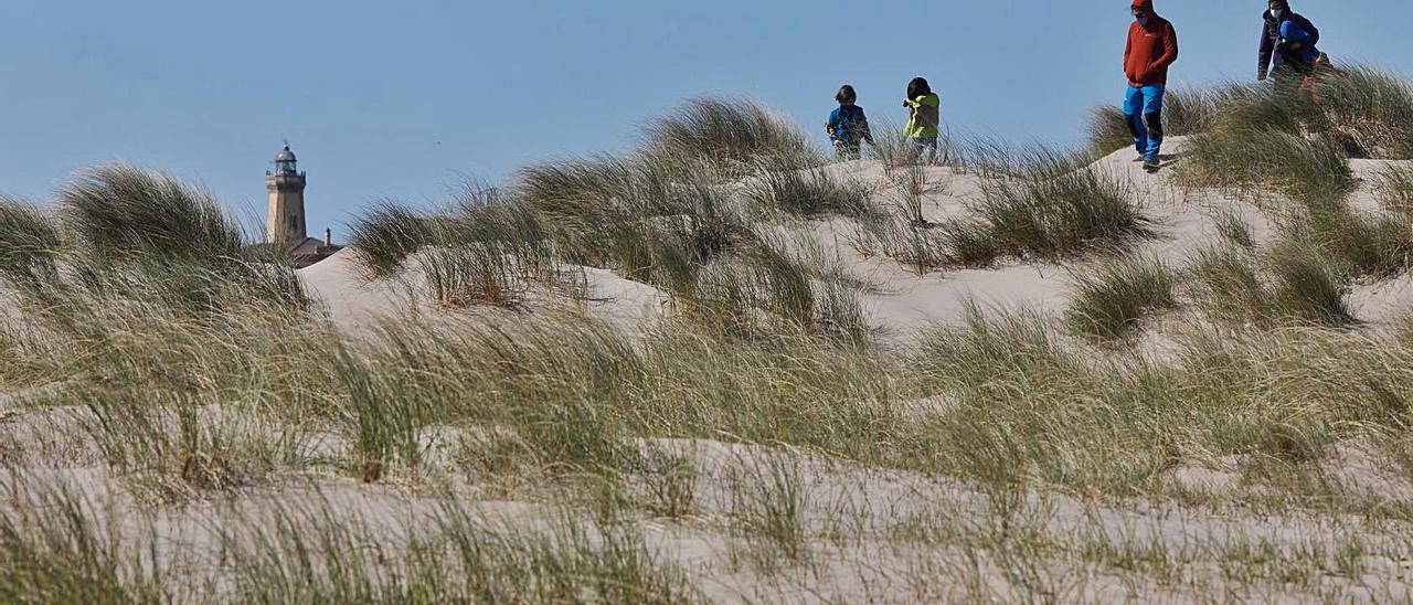 Aspecto actual de las dunas de San Juan.