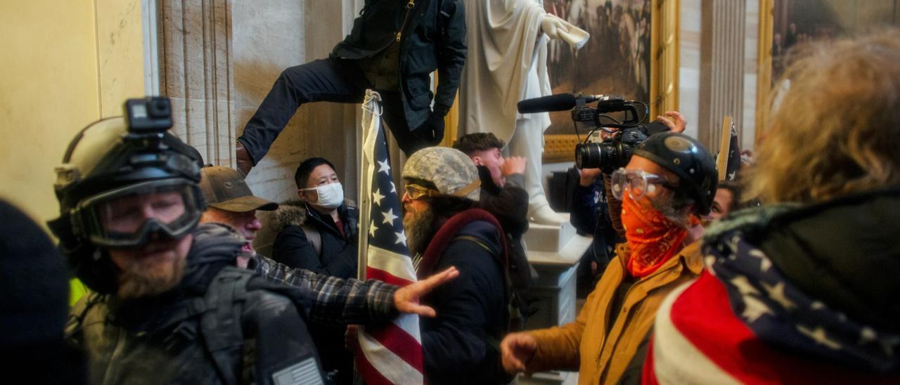 Trump supporters breach the U.S. Capitol