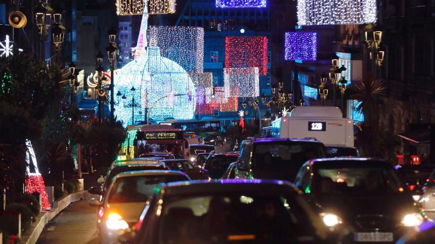 El plan de tráfico para la Navidad 2020 de Vigo: hasta cuándo y a qué calles afecta