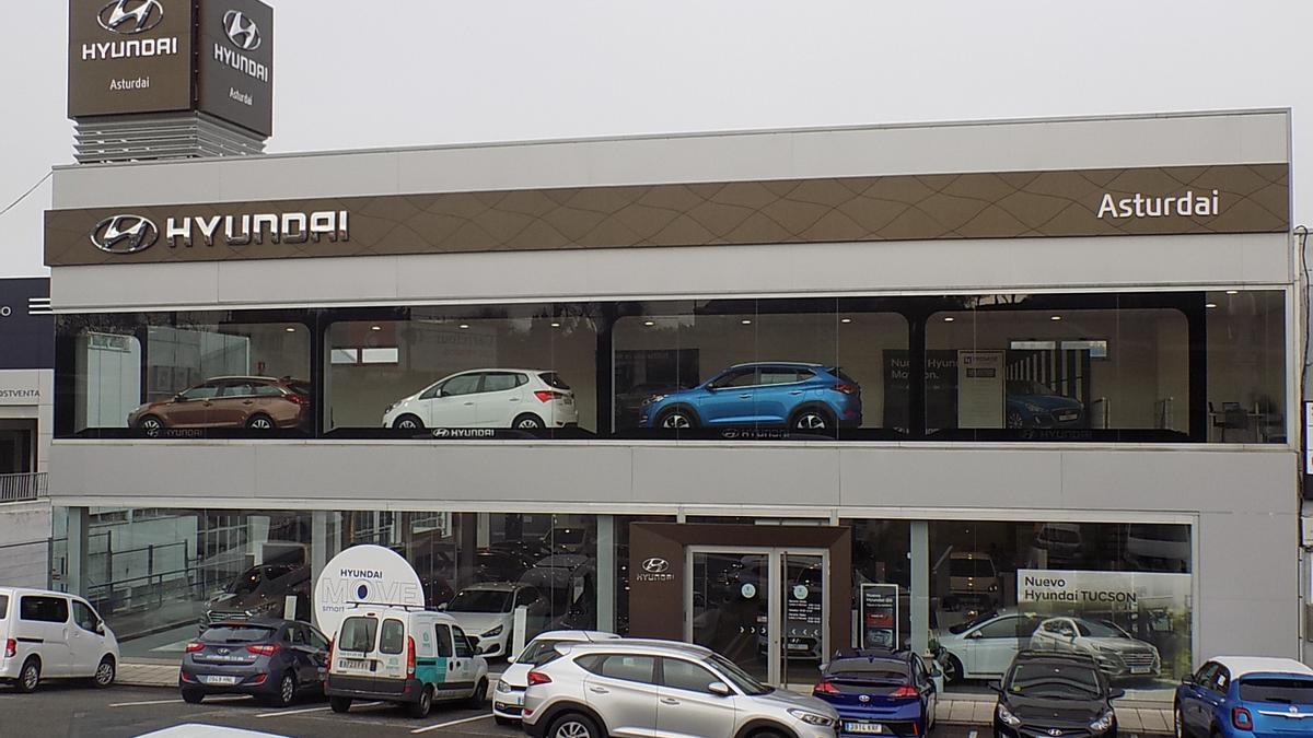 Instalaciones del concesionario Hyundai Asturdai, del Grupo Resnova
