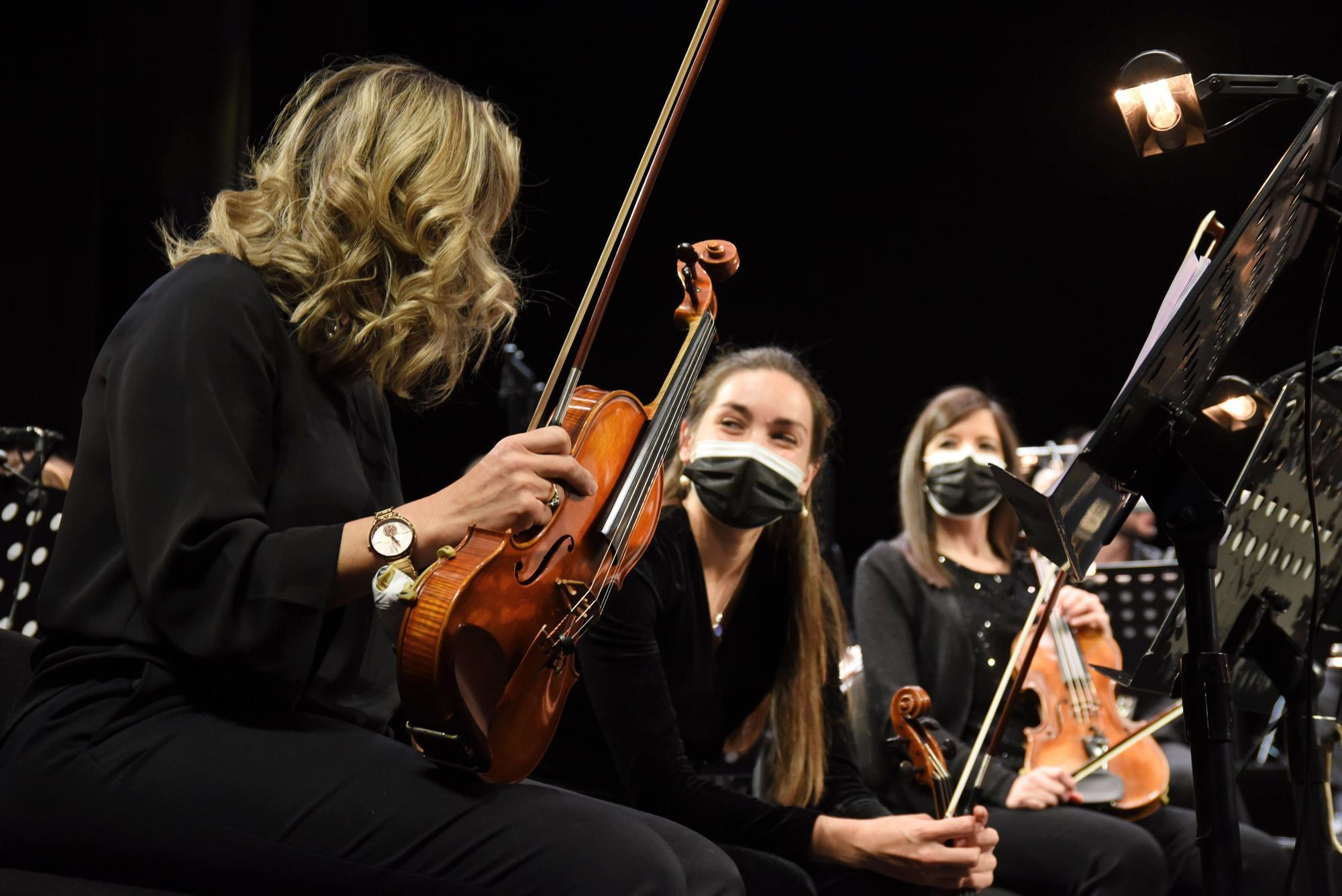 Nueva banda sinfónica del Teatro Soho CaixaBank