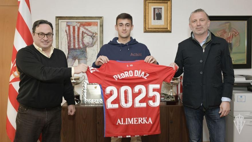 Pedro Díaz, renovado hasta 2025