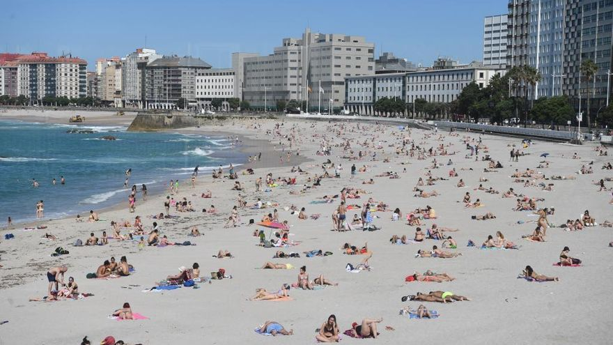 Cielo despejado y temperaturas en ascenso este martes en Galicia