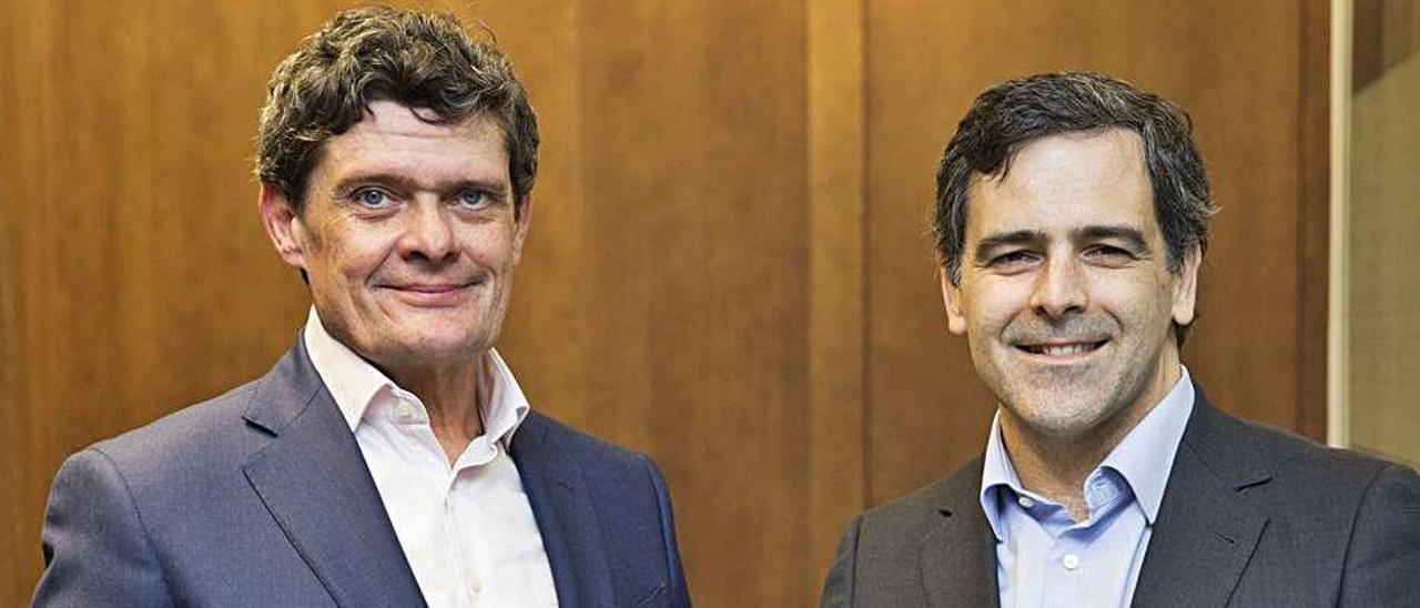 Jaime Echegoyen y Javier García del Río.