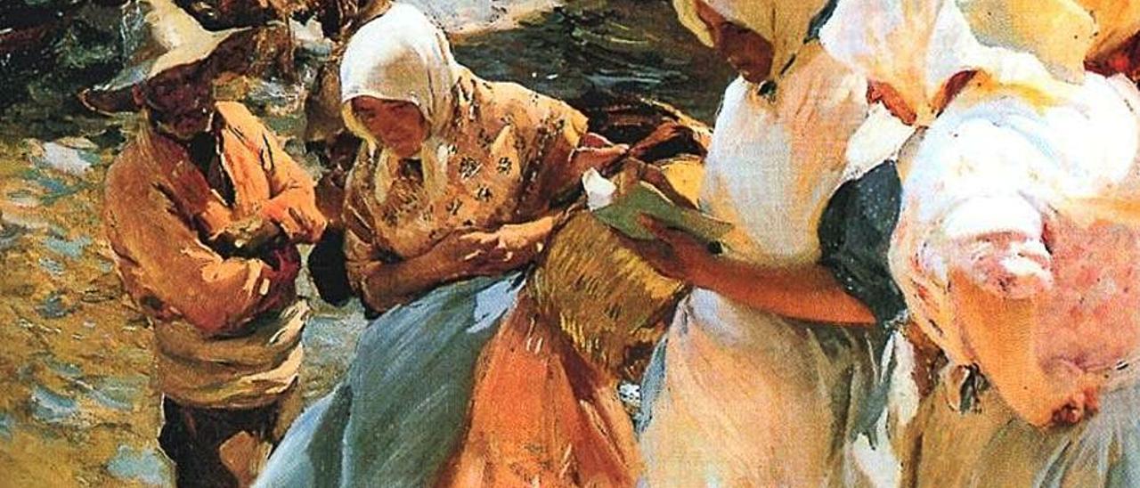 «Después del baño».  museo sorolla | MUSEO SOROLLA