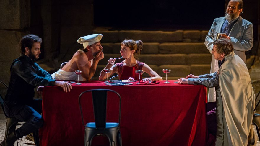 Teatro de Noctámbulo participa con 'Tito Andrónico' en el festival de Olite