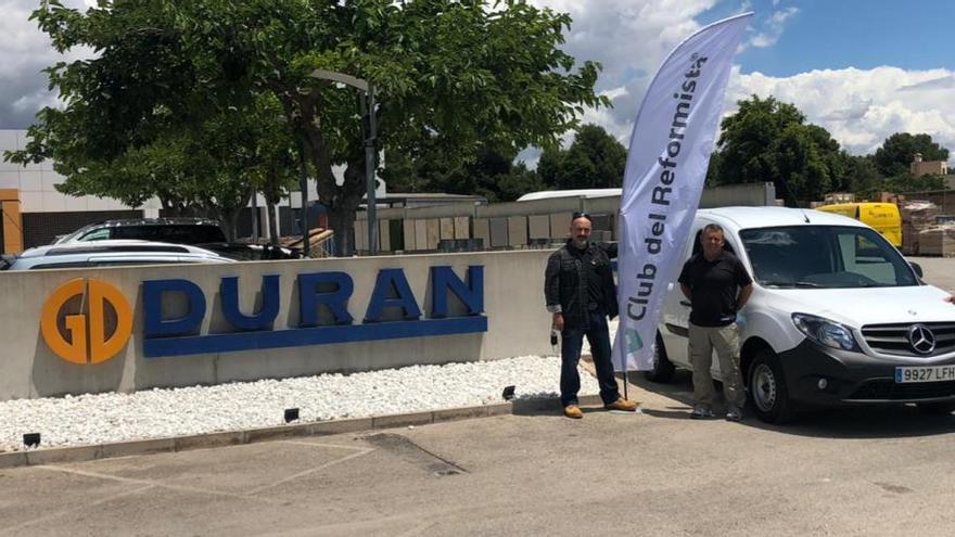 Autovidal y Duran de nuevo juntos, entregan una Mercedes-Benz Citan