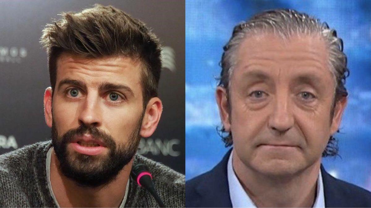 Gerard Piqué y Josep Pedrerol.